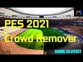 PES 2021 Crowd Remover For Low End PC Download & Install