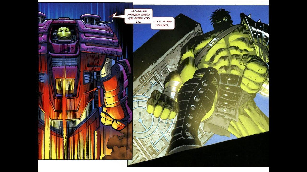 Resultado de imagen para world war hulk vs iron man