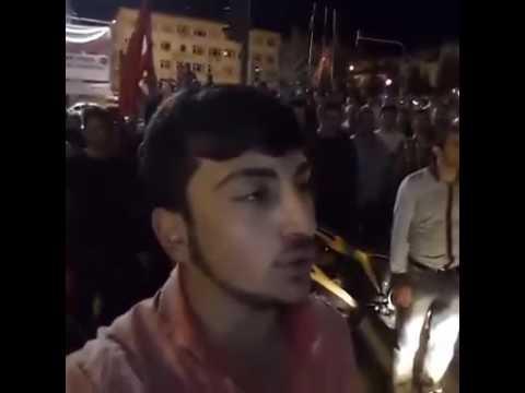kastamonu tosya cumhuriyet meydanı  15 temmuz 0300 demokrasi nöbeti