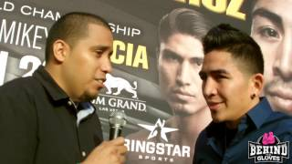 SANTA CRUZ: WE'RE GOING TO BE A LOT SMARTER FOR THIS FIGHT, EXPECTS STOPPAGE FROM ZLATICANIN/GARCIA