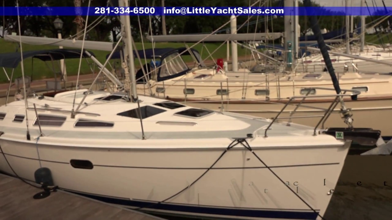2002 Hunter 356 Sailboat For Sale At Little Yacht Sales Kemah Texas