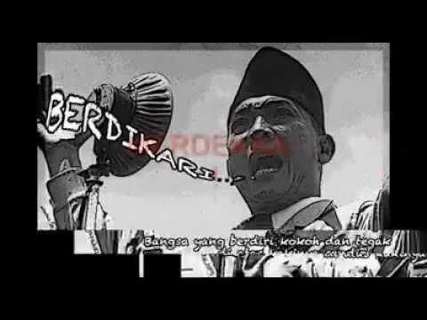 Ada Apa di Pidato Terakhir BUNG KARNO ??? - Presiden SOEKARNO - Selamat Hari Pahlawan, MERDEKA!!!