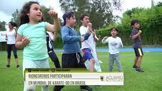 Rionegreros participarán en Mundial de Karate-do en Brasil