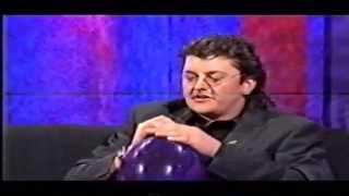 Joe Pasquale takes helium on Frank Skinner show