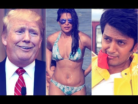SPOOF: Donald Trump Asks Riteish Deshmukh, 'Is There Priyanka Chopra In Bank Chor?'   SpotboyE