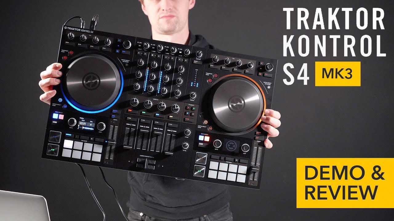 Native Instruments Traktor Kontrol S4 MK3 Review - We Are