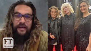 Jason Momoa And His Kids 'Geeked Out' After Meeting Billie Eilish