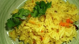 Basmati Rice Pilaf With Carrots  INDIAN RECIPES  WORLDS FAVORITE RECIPES  HOW TO MAKE