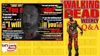 """Walking Dead Q&A #17 """"ALIENS SPREAD THE VIRUS!"""""""