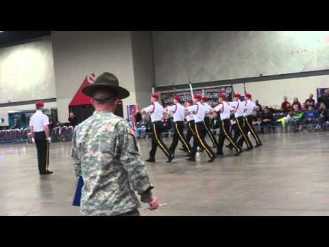 Marmion Academy Armed Ex Army JROTC Nationals 2016