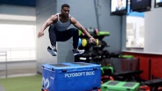 Workout to Increase Vertical Jump | Explosive Leg Day