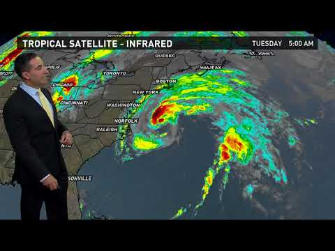 13News Now Daybreak Weather Forecast, 9/19/17