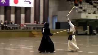 第12回東京武道館杯 一般 決勝  中段VS二刀