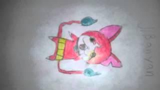 My yo kai watch drawings