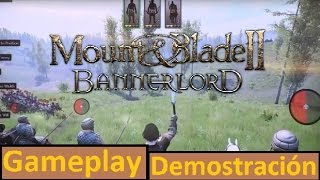Mount&Blade II Bannerlord - Gameplay Demostración (Análisis en Español)
