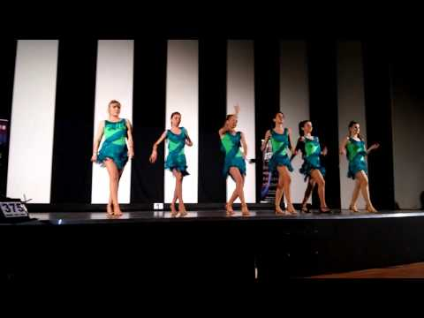 BACHATA LADIES  1st  IDTA GREEK AREA'S DANCE TEAM COMPETITION