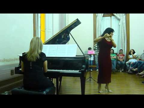 Czardas - Viviana Guzman - Festival Internacional de Flautistas em Manaus -2012