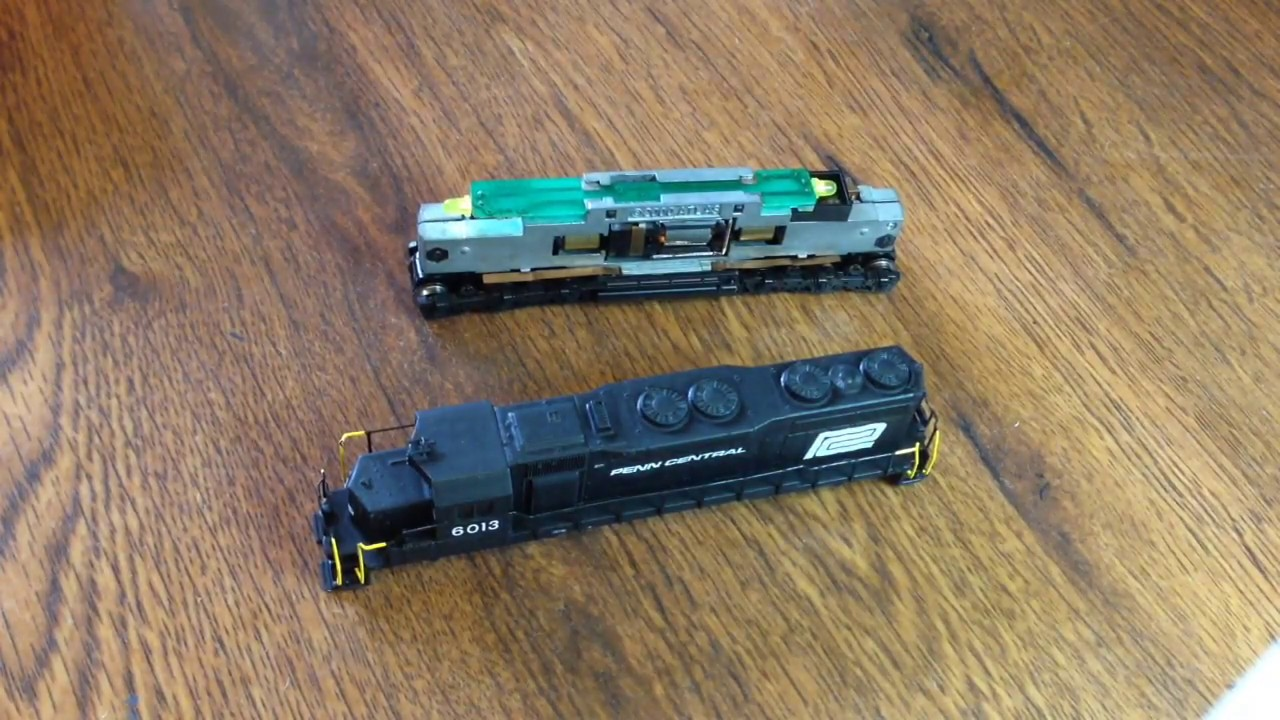 Repeat N scale locomotive rebuild by WatchTrainsHere - You2Repeat