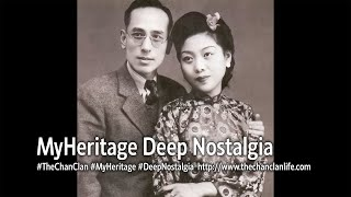 TheChanClan: MyHeritage Deep Nostalgia - I Animated My Long-Departed Grandparents Whom I Never Met!