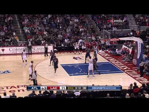 Blake Griffin - LA Clippers @ Atlanta Hawks - NBA Dunk Fastbreak