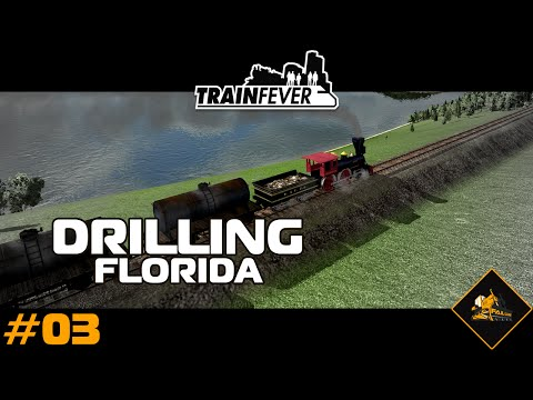 Train Fever North Atlantic Custom Map - Drill Florida #3