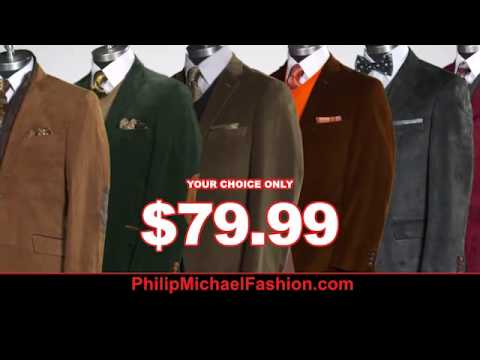 Philip Michael Fashion For Men Fall Sport Coat