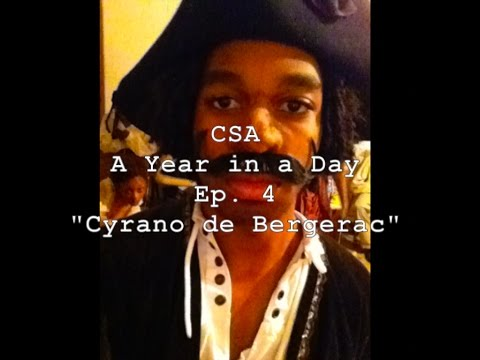 """cleveland school of the arts a year in a day web series I Ep 4 I """"Cyrano De Bergerac"""""""