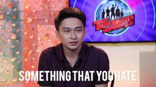 Get to know RAYMOND MABUTE from Pinoy Boyband Superstar! | QUICKMYX
