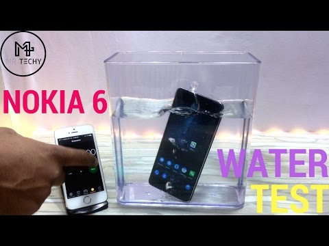 Nokia 6 - Water Test | Is it Waterproof ? | Durability Test [ Hindi ]