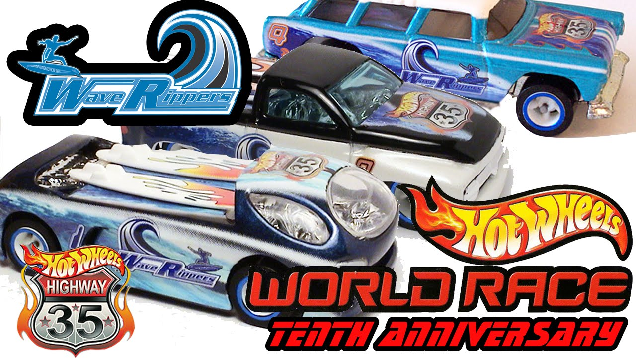 Hot Wheels World Race: Wave Rippers Team- Highway 35 10th ...  Hot Wheels Worl...