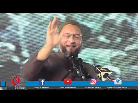 Asaduddin Owaisi slams Moulana Salman Nadvi on Babri Masjid issue at AIMPLB program in Hyderabad