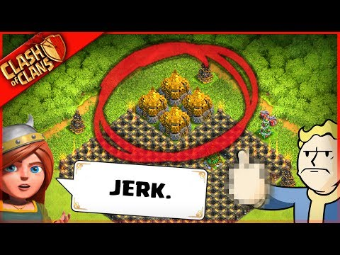 HOW TO BE A MASSIVE JERK ▶️ Clash of Clans ◀️ I'M THE WORST