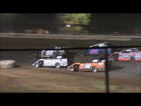 Limited Modifieds at Abilene Speedway 8-10-19