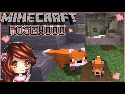 Fox Den 🦊 🌹| Minecraft 1.14 Rosewood | Day 65