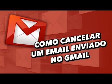 Como cancelar um email enviado no Gmail [vídeo]