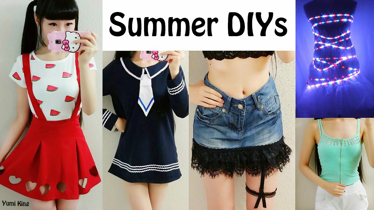 5 Diy Cool Summer Clothes Amp Room D 233 Cor Giveaway Light Up