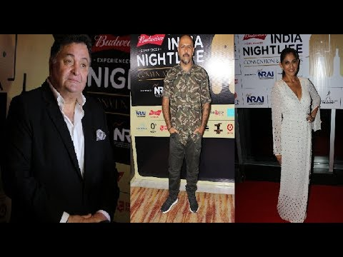 Rishi Kapoor attends Indian Nightlife Convention & Awards
