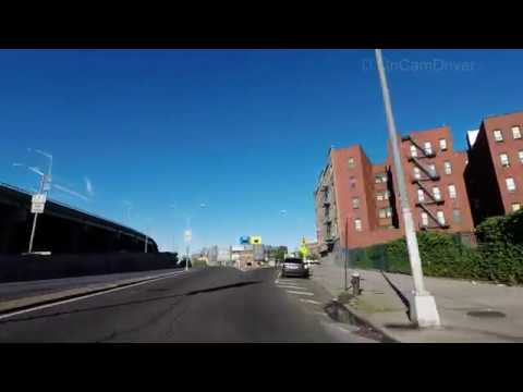 Hunts Point to Yankees Stadium via E 163rd Street Bronx New York NYC 4k