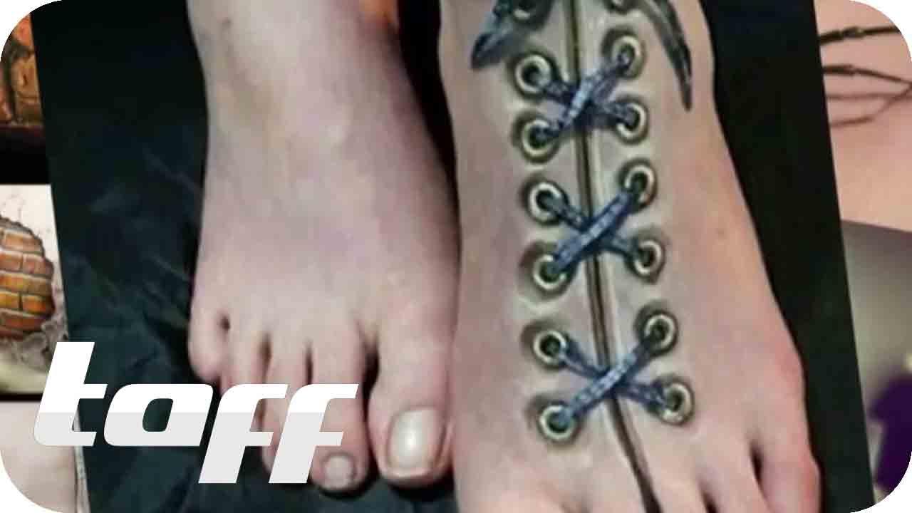 Der Neueste 3d Tattoo Trend Taff