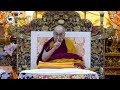 Exile, a blessing in disguise: Dalai Lama during 'Jataka Tales' teaching