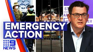 Coronavirus: New legislation to extend state of emergency for a year | 9 News Australia