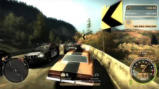 Need For Speed: Most Wanted(2005): Most Difficult Challenge Series:#69 - funny backward driving
