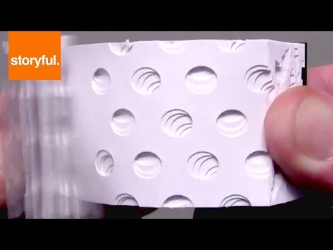 Flip Book Artist Makes Trippy Optical Illusion (Storyful, Crazy)