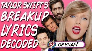 Taylor Swift's Boyfriend Lyrics Decoded!