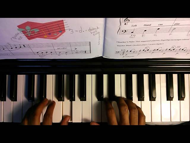 Piano Adventures Lesson Book 1 - 002 Legato Steps p6