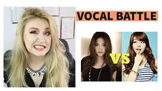 PHILIPPINES VS. KOREA - ULTIMATE VOCAL BATTLE/ Vocal coach Reacts