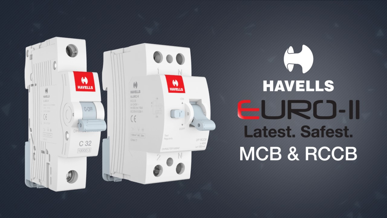 Havells Euro II MCBs and RCCBs - Switchgears Movies