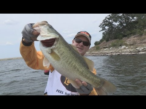 Southwest Outdoors Report #19 Lake Somerville, Texas Bass & Crappie Fishing - 2013