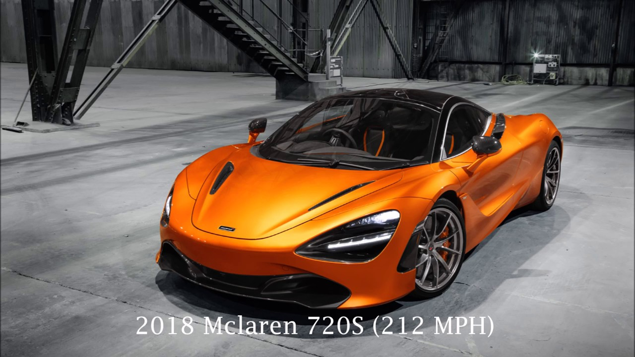 10 fastest street legal cars of 2017/2018, Top 10 #1 - YouTube