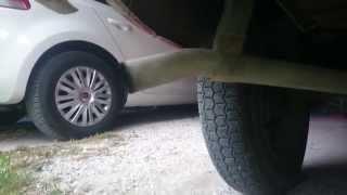 Citroën 2cv6 Special exhaust sound